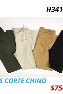 Jeans corte chino -