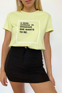 Remera Real Woman -