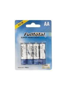 Pila AA blister x 4 R6P-B4P Fulltotal -