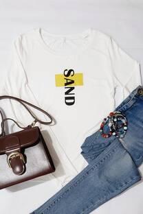 camiseta c estampa -