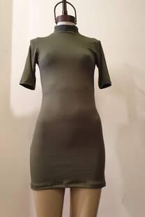 Vestido polera -