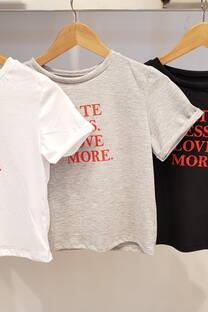 Remera love algodón jersey -