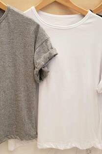 Remera lisa algodón jersey -