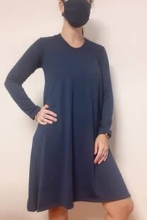 vestido amplio -