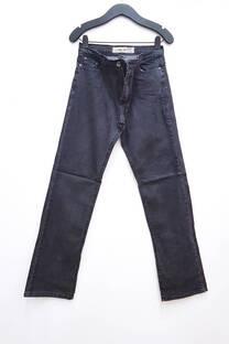 Jean bolsillo c/ recorte Recto/Regular -