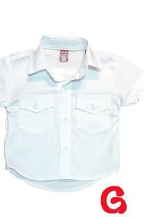 Camisa niño poplin lisa mc -