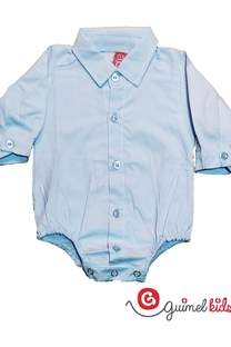 Body camisa mini bb poplin liso ml -