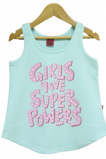 Musculosa Nena Power Girl -