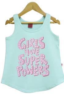 Musculosa Nena Power Girl -