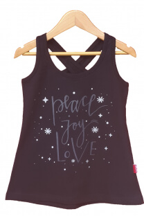 Musculosa Cross Back -