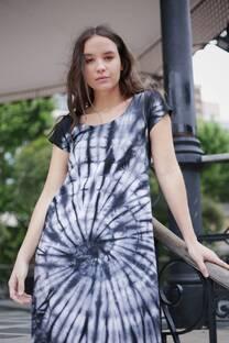 Vestido batik caracol -