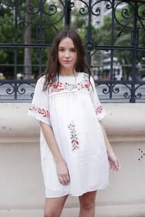 Vestido bordado VENIA -