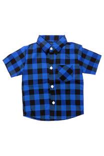 Camisa Cuadros en Poplin  -