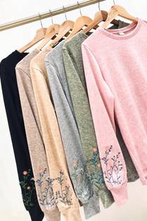 Sweater Flowers -