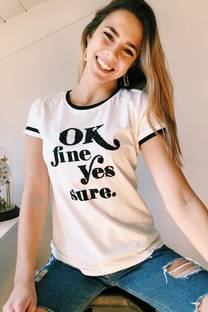 Remera OK FINE -