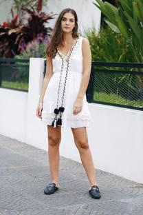 Vestido bordado GRAMMA -