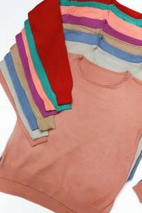 Sweater liso corto -