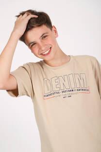 REMERA JERSEY M/C DENIM -