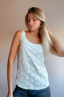 Musculosa PANAMA FLORES -