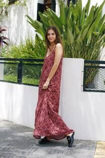 Vestido largo KUKI BULGARO -