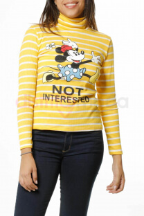 Polera de morley rayado MINNIE - Dream High
