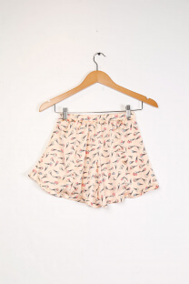 Shorts seda estampado SZ083 Jelly Dolly -