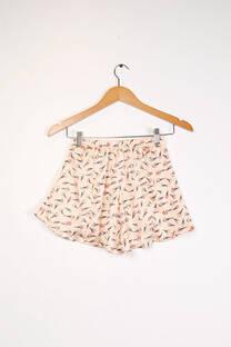 Shorts seda estampado SZ083 Jelly Dolly -