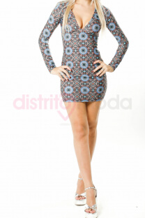 Vestido Estampado - Jelly Dolly