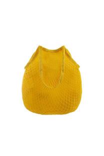 Bolso forrado hilo con manija de agarre.  Medidas: 40 cm x 35 cm -