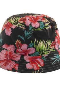 Sombrero piluso estampado con flores -