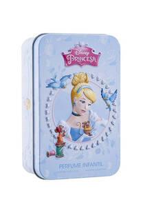 Perfume infantil en lata CENICIENTA. 50 ml -
