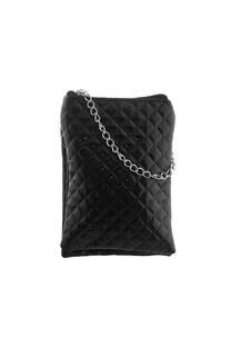 Bandolera texturada doble de charol con tira de cadena-  Medidas: 20 cm x 13 cm -