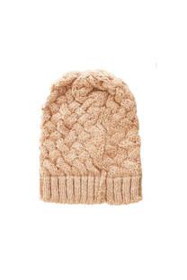 Gorro de lana trenzado -