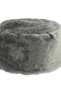 Gorro cosaco símil piel -