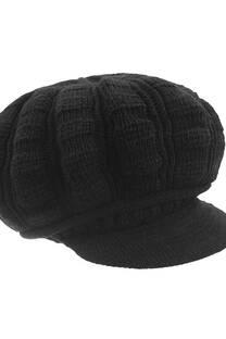 Boina de lana tejida -