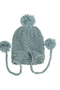 Gorro de lana coya trenzado -