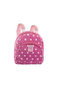 Mini mochila de tela para niños LUNARES con tiras regulables.  Medidas: 20 cm x 20 cm -