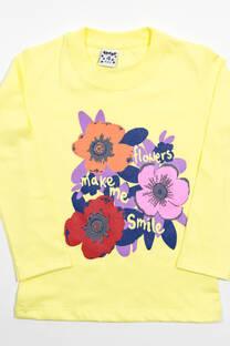 """Remera Nena """"Flowers"""" -"""