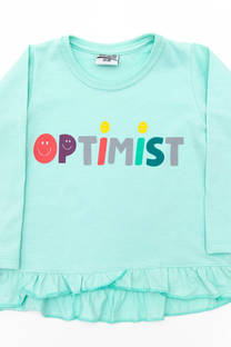 """Camiseta Volados """"Optimist"""" -"""