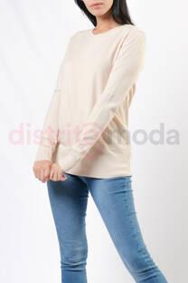 Sweater cuello redondo básico -