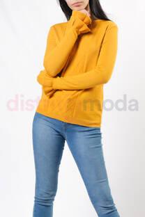Sweater con volado en las mangas -