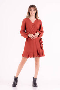 Vestido de rayon twill spandex -