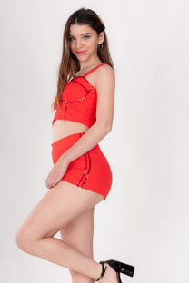 TOP CREPE C/PUSH UP Y LENTEJUELA -