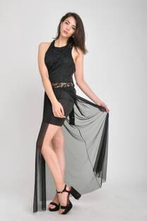 Vestido encaje Lurex  -
