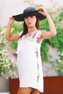 Vestido bordado GOLUEZ -