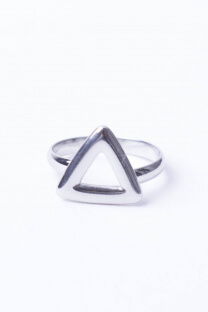 Anillo triángulo  -