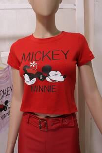 M/C Minnie Algodon Corto  -