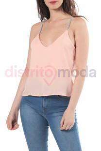 Musculosa con Tira Brillos Altea -