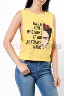 Musculosa Corta Take a Lover -