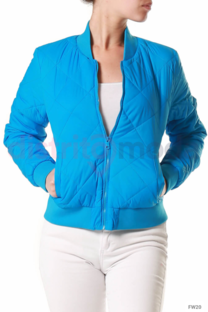 Campera aviador rombo -